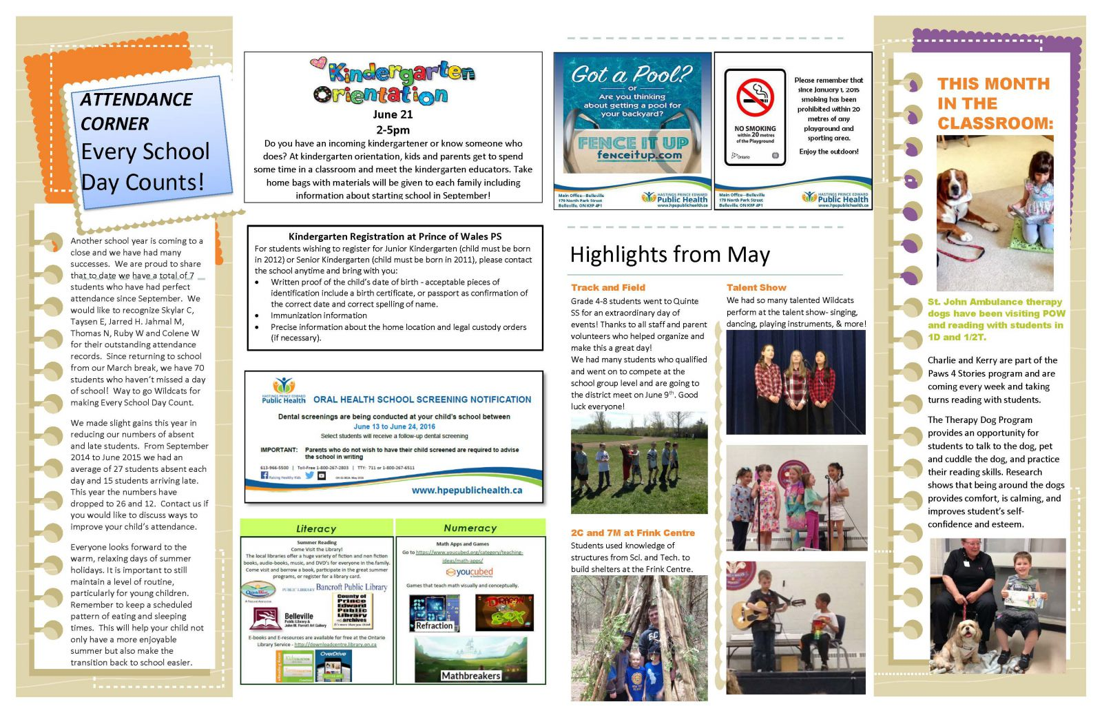 June 2016 Newsletter page 2