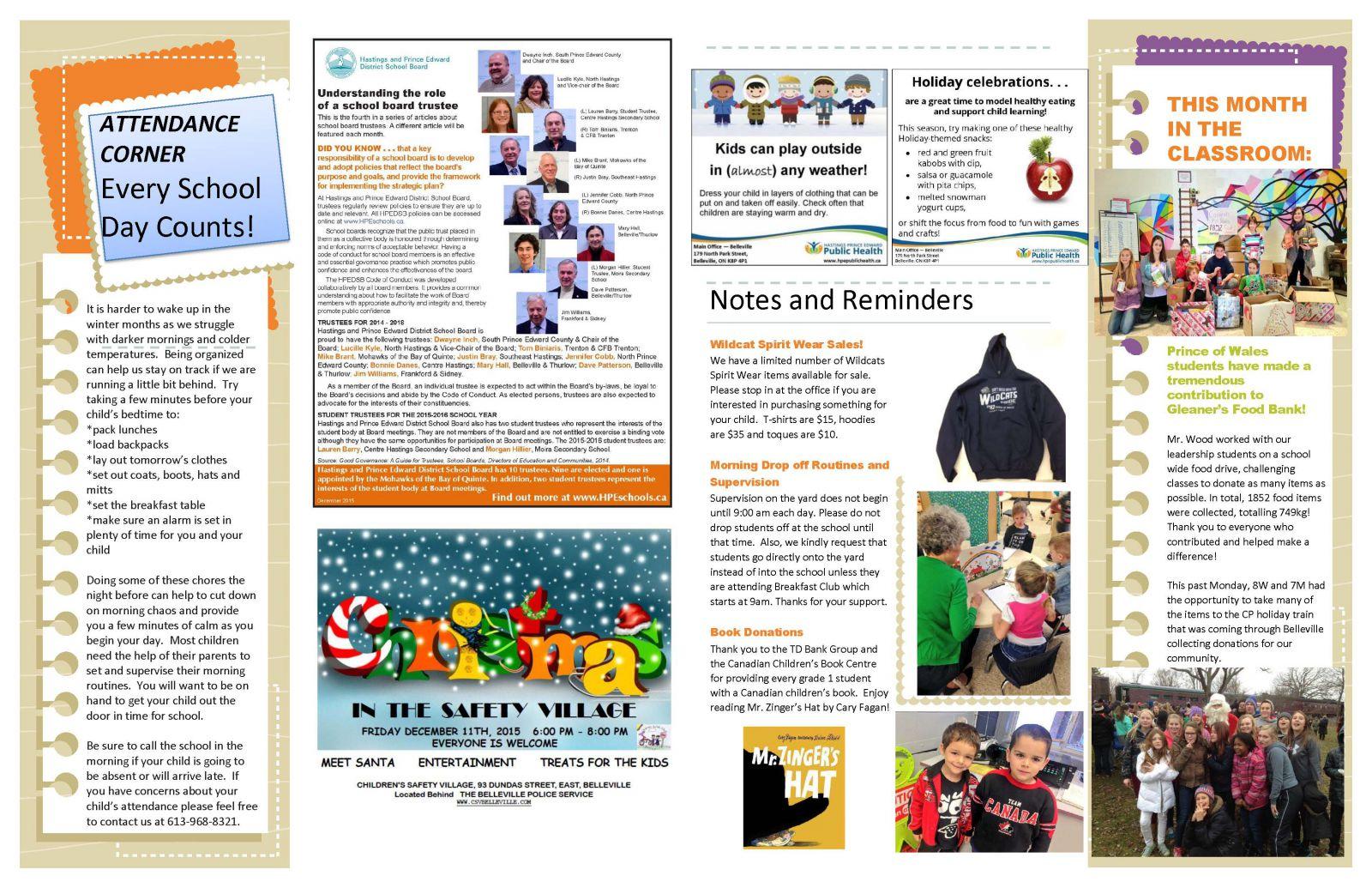 December 2015 Newsletter page 2