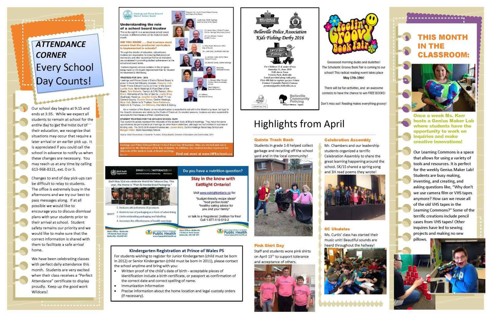 May 2016 Newsletter page 2